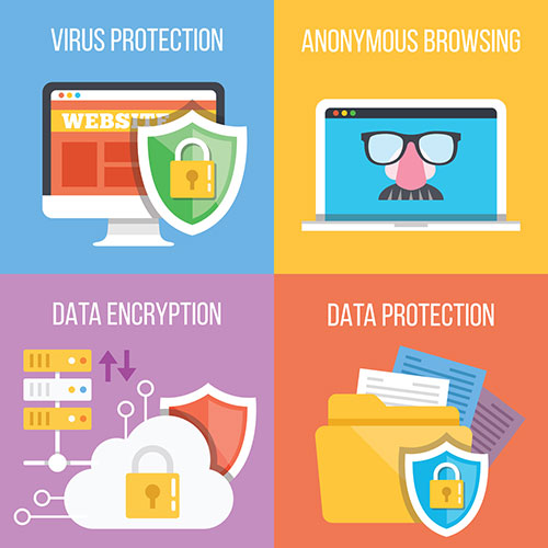 virus protection, anonymous browsing, data encryption, data protection, cyber security, applewood IT